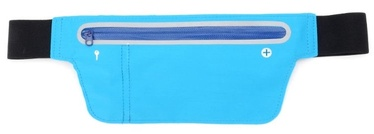 TakeMe Multifunciton Universal Waist Bag For Running 15.5x10cm Light Blue