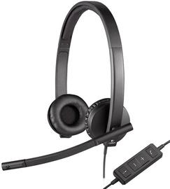 Kõrvaklapid Logitech H570e, must (kahjustatud pakend)
