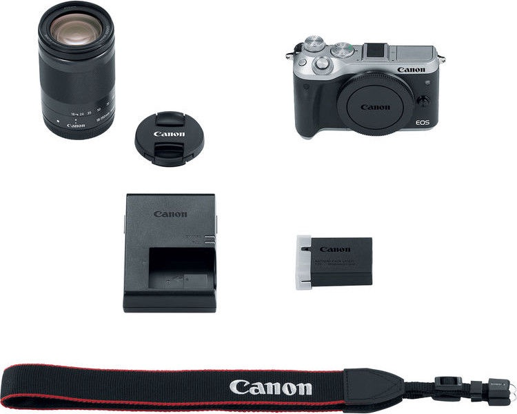 Canon EOS M6 + EF-M 18-150mm IS STM Silver