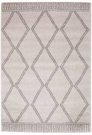 Ковер Evelekt Lotto 8, белый/серый, 150 см x 100 см