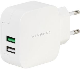 Vivanco Dual Charger 2x2.4A 38333