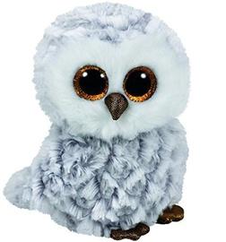 Pliušinis žaislas TY Beanie Boos Owlette White Owl, 15 cm
