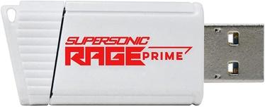 USB zibatmiņa Patriot Supersonic Rage Prime, balta, 256 GB