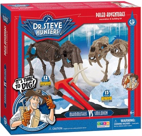 Geoworld Paleo Adventures Smilodon vs. Mammuthus Excavation Kit CL1662K
