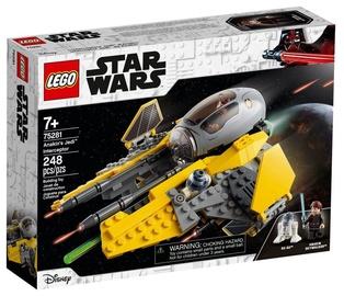 Konstruktorius LEGO®Star Wars TM 75281 Anakino džedajų™ naikintuvas