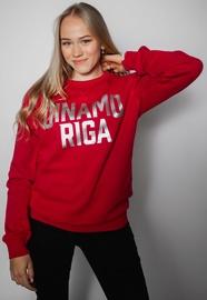 Džemperis Dinamo Rīga, raudonas, XXL