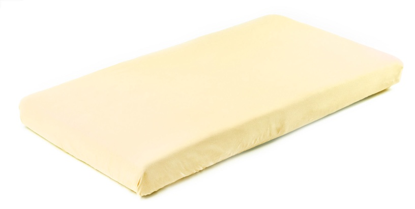 BabyOno Frotte Bed Sheet With Band 120x60 Yellow