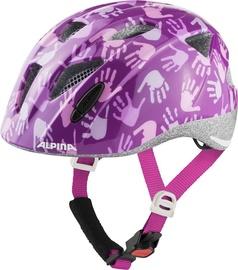 Šalmas Alpina Ximo 9711 2 56, violetinis, 490 - 540 mm