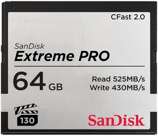 SanDisk 64GB Extreme Pro CFast 2.0 525MB/s