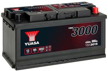 Аккумулятор Yuasa YBX3019, 12 В, 95 Ач, 850 а
