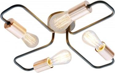 Candellux Herpe 34-66923 4x60W E27 Black/Copper