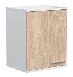 Mirramebel Bergen BRL 435 Hanging Cabinet Sonoma Oak/White