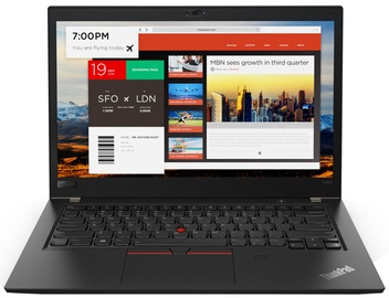Lenovo ThinkPad T480S Black 20L8002UMX