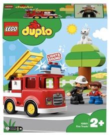 Конструктор LEGO Duplo Пожарная машина 10901, 21 шт.