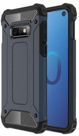 Hurtel Hybrid Armor Back Case For Samsung Galaxy S10e Blue