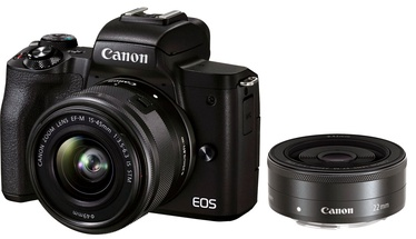 Süsteemne fotoaparaat Canon EOS M50 Mark II