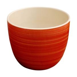 Puķu pods, keramikas 9x14cm, sarkans