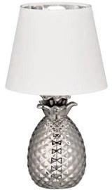 Trio Pineapple R50421089 Table Lamp 40W E14 Silver/White