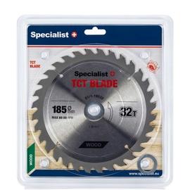 Пильный диск Specialist+, 185 мм x 30 мм