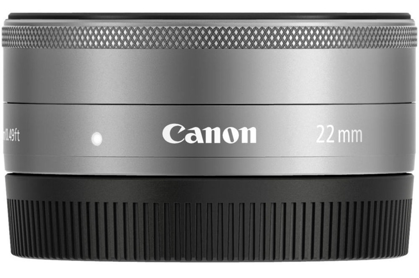 Canon EF-M 22mm f/2 STM Silver