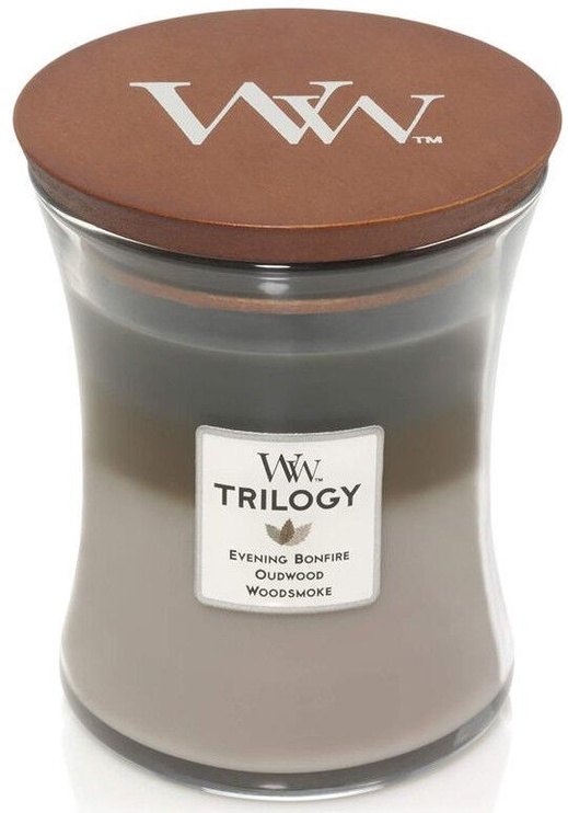 WoodWick Trilogy Cozy Cabin Candle 275g