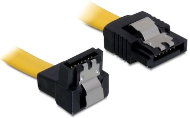 Delock Cable SATA / SATA Yellow 0.1m