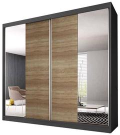 Idzczak Meble Wardrobe Multi 36 183 Graphite/Sonoma Oak