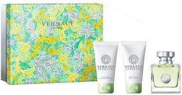 Versace Versense 50ml EDT + 50ml Body Lotion + 50ml Shower Gel