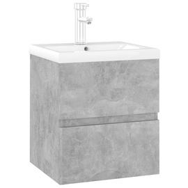 Шкаф для раковины VLX 3071625, черный, 38.5 x 41 см x 45 см
