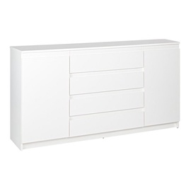 WIPMEB Armadio AXL 2D 4S Chest Of Drawers White