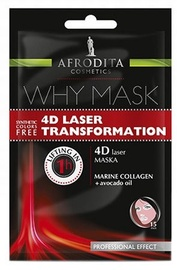 Afrodita Why Face Mask 4D Laser Transformation 6ml + 6ml