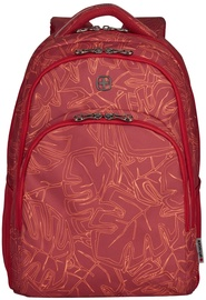 Wenger Upload Laptop Backpack 16'' Red