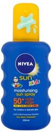 Nivea Sun Kids Coloured Sun Spray SPF50+ 200ml