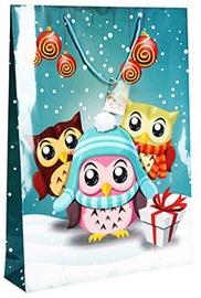 Verners Gift Bag Christmas Owls 389672