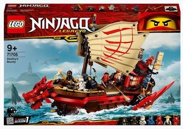 Конструктор LEGO Ninjago Летающий корабль Мастера Ву 71705, 1781 шт.