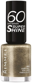Rimmel London 60 Seconds Super Shine 8ml Nail Polish 809