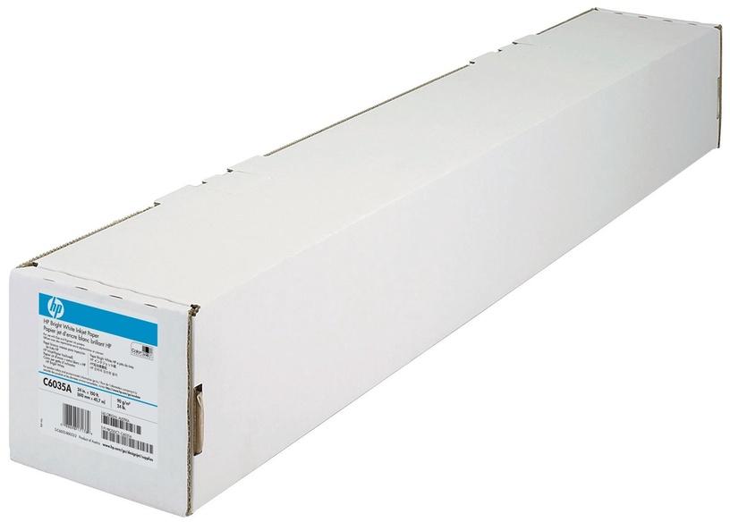 HP Bright White Inkjet Paper Roll 610mm x 45.7m