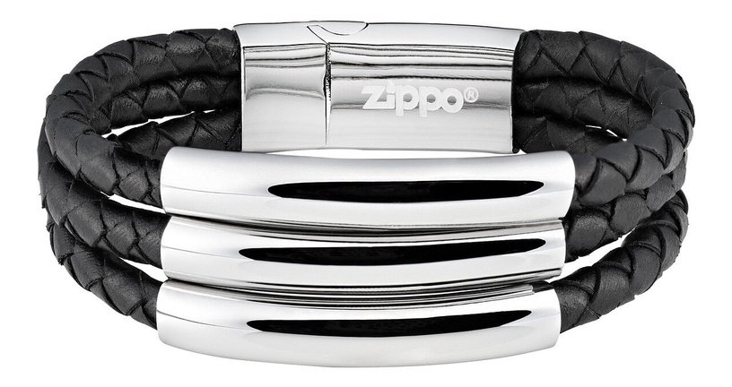 Браслет Zippo, черный