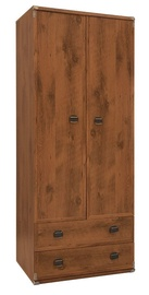 Black Red White Indiana Wardrobe Sutter Oak