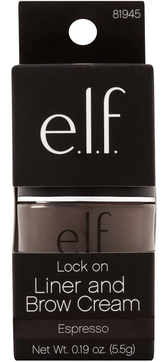 E.l.f. Cosmetics Lock On Liner and Brow Cream 5.5ml Brow Cream Espresso