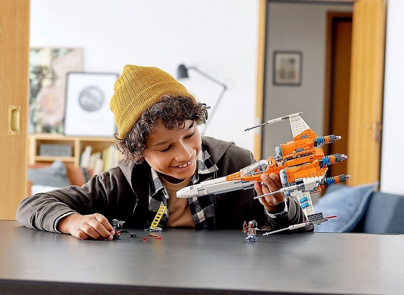 Конструктор LEGO Star Wars TM Истребитель типа Х По Дамерона 75273, 761 шт.