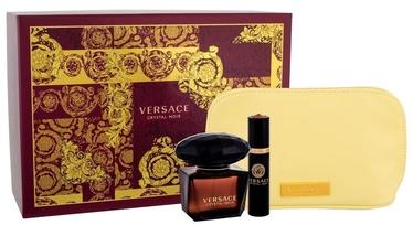 Versace Crystal Noir 90ml EDT + 10ml EDT + Cometic Bag