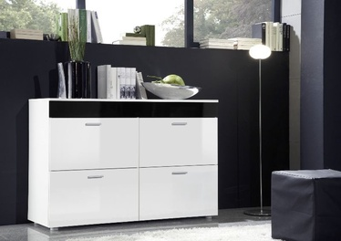 ASM Logo Chest Of Drawers White/Black