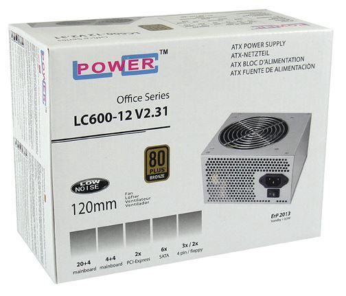 LC-Power PSU 450W LC600-12