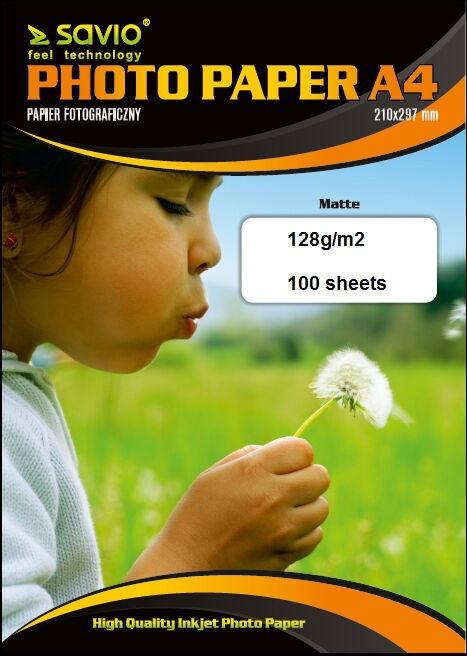 Fotopaber Elmak Savio PA-11 A4 128/100 Matte Photo Paper