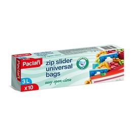 Šaldymo maišeliai Paclan, su užspaudimu, 3 l, 10 vnt.