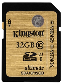 Kingston 32GB SDHC Class 10 UHS-I Ultimate