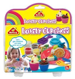 Modelino rinkinys Peipeile Dough Lovely Cupcakes 6817B