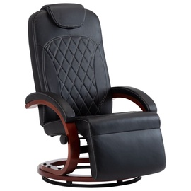 Tugitool VLX Faux Leather 248713, must, 87 cm x 64 cm x 106 cm
