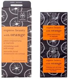 Apivita Express Revitalizing Mask Orange 2 x 8ml